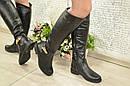 Зимние женские сапоги черные Супер комфортные! Размеры 37, 40, фото 2