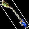 Горелка с клапаном, газ пропан Ø 60 мм