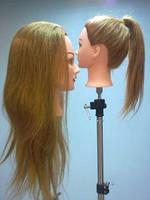Манекен с натуральными волосами