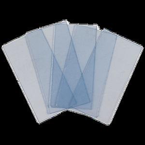 """Защитное стекло поликарбонатное к маске сварщика (внутреннее с АСФ """"Хамелеон"""") 50 х 95 мм"""