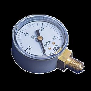Манометр МП-50 0,4 МПа С2H2 (Ацетилен)