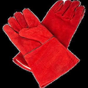 Краги сварочные красные
