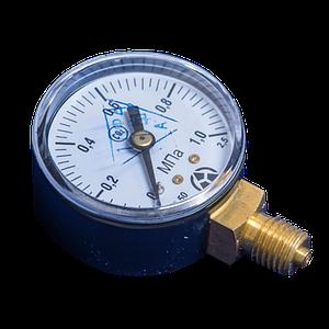 Манометр МП-50 0,6 Мпа СО2 (Углекислый газ)