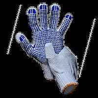 Перчатки с ПВХ, 5 нитей