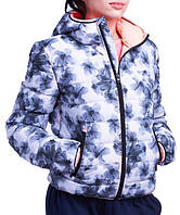 Куртка зимняя женская Lotto  IZA III BOMBER PAD PRT W S9357