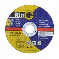 Отрезной круг по металлу RinG 41 14А 1251,222,23