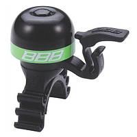 Звонок BBB BBB-16 MiniFit черно/зеленый (8716683095111)