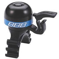 Звонок BBB BBB-16 MiniFit черно/синий (8716683095098)