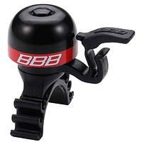 Звонок BBB BBB-16 MiniFit черно/красный (8716683095104)