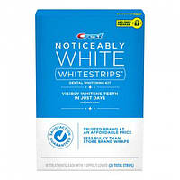 Отбеливающие полоски для зубов Crest Noticeably White Whitestrips Dental Whitening Kit