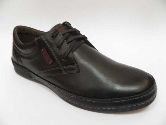 Туфли мужские Detta 662 черные