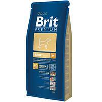Brit (Брит) Premium Adult Medium (15 кг) корм для собак средних пород с курицей