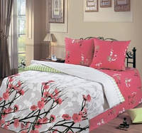 Комплект постельно белья ТМ Романтика (евро, полуторный, двойной, семейный, постельное белье, перкаль, хлопок)