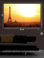 Светящаяся картина (ночник), 29х45см, В Париже, Киев