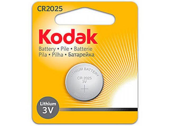 Батарейки Kodak CR 2025