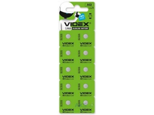 Батарейка Videx LR 621