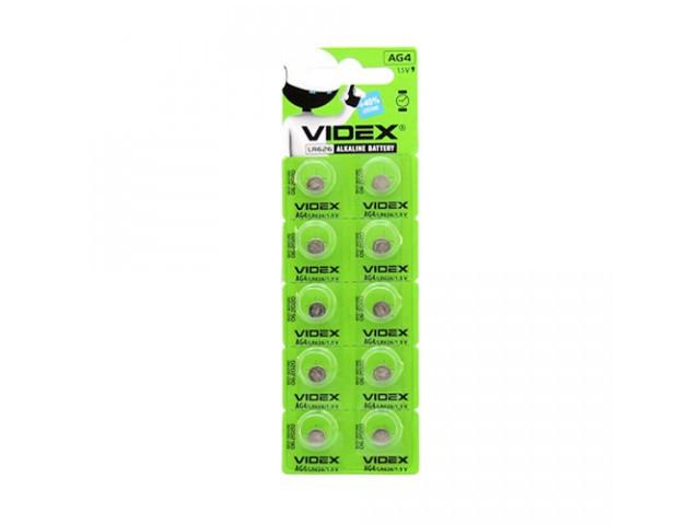 Батарейка Videx AG4