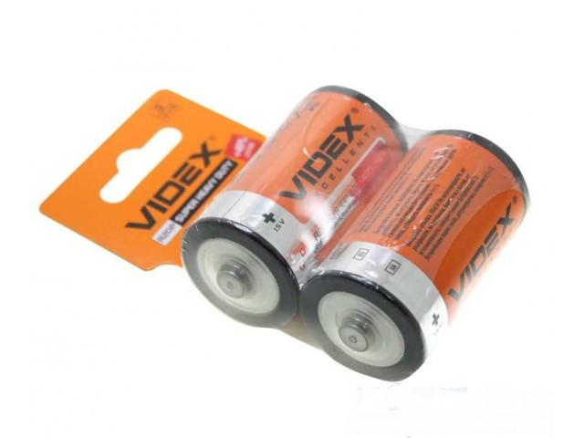 Батарейка Videx R20