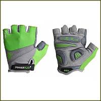 PowerPlay Велоперчатки 5277-D (green)