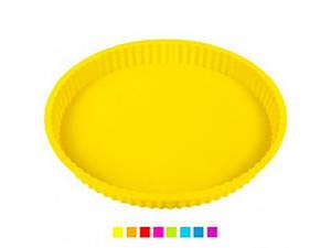 """Форма для випічки силіконова """"Піца маленька"""" Stenson 11510"""