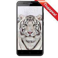 "Смартфон 5.5"" Ulefone Tiger lite 1GB+16GB Серый 4 ядра Камера 8 Мп Sony 3500мАч Android 6.0 + селfи в подарок"