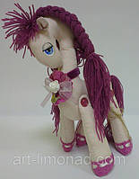 Мягкая игрушка Лошадка Принцесса с косичкой, фото 1