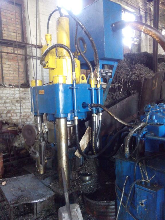 Создание участка для брикетирования металлической стружки