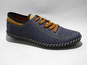 Туфлі чоловічі Alex star синій ОД * 2719