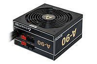 Блок Питания Chieftec GDP-550C, ATX 2.3, APFC, 14cm fan, КПД >90%, modular, RTL