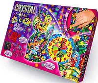Набор для творчества Часы Crystal Mosaic Clock Danko Toys