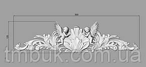 Горизонтальный декор 31 для мебели - 500х125 мм , фото 2