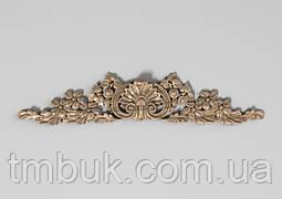 Горизонтальный декор 32 деревянная накладка - 350х75 мм