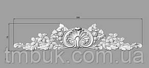 Горизонтальный декор 32 деревянная накладка - 350х75 мм, фото 2