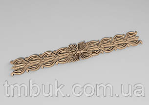 Горизонтальный декор 33 деревянная накладка - 340х40 мм, фото 2