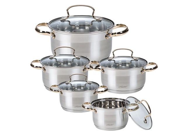 Набор посуды Maestro MR 3516-10 ***