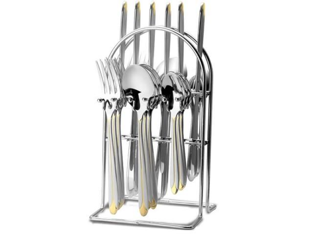 Столовый набор на стойке Maestro MR 1528 Фраже 24 пр