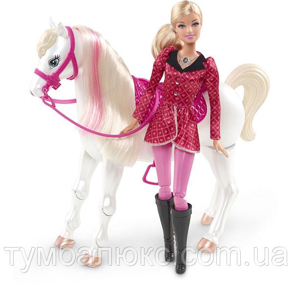 """Інтерактивний набір """"Барбі з конячкою"""" з м/ф """"Барбі в Казці про поні"""" Y6858"""