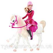 """Інтерактивний набір """"Барбі з конячкою"""" з м/ф """"Барбі в Казці про поні"""" Y6858, фото 3"""