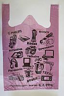 Пакет полиэтиленовый майка Электроника