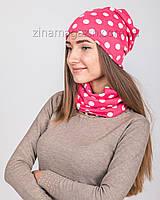 Комплект шапка + баф