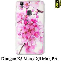 Чехол для Doogee X5 Max/ Pro, бампер 3D, FR01, цвет вишни