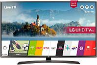 Телевизор LG 49UJ634V 4K, Ultra HD, 1600Gz, Smart, WiFi, T2, S2