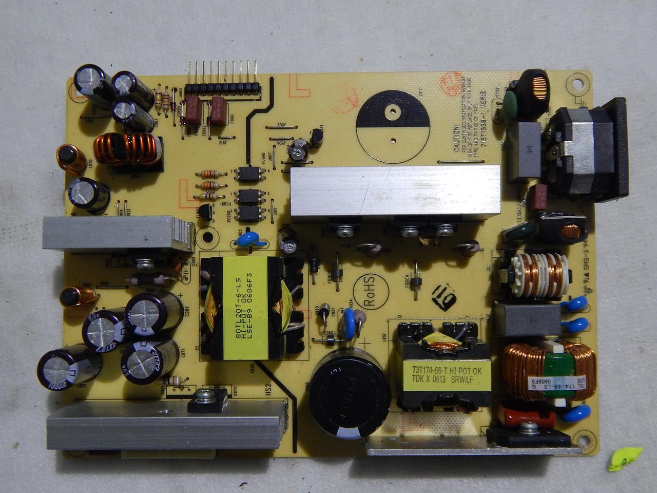 Блок питания 715T-1599-1 к телевизору Thomson 20LW052B5