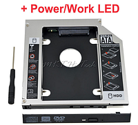 Карман для HDD SATA 12.7mm Caddy второй диск вместо привода