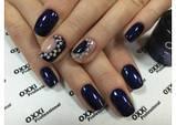 Гель лак Oxxi №54(темный фиолетовый с голубым микроблеском), фото 2