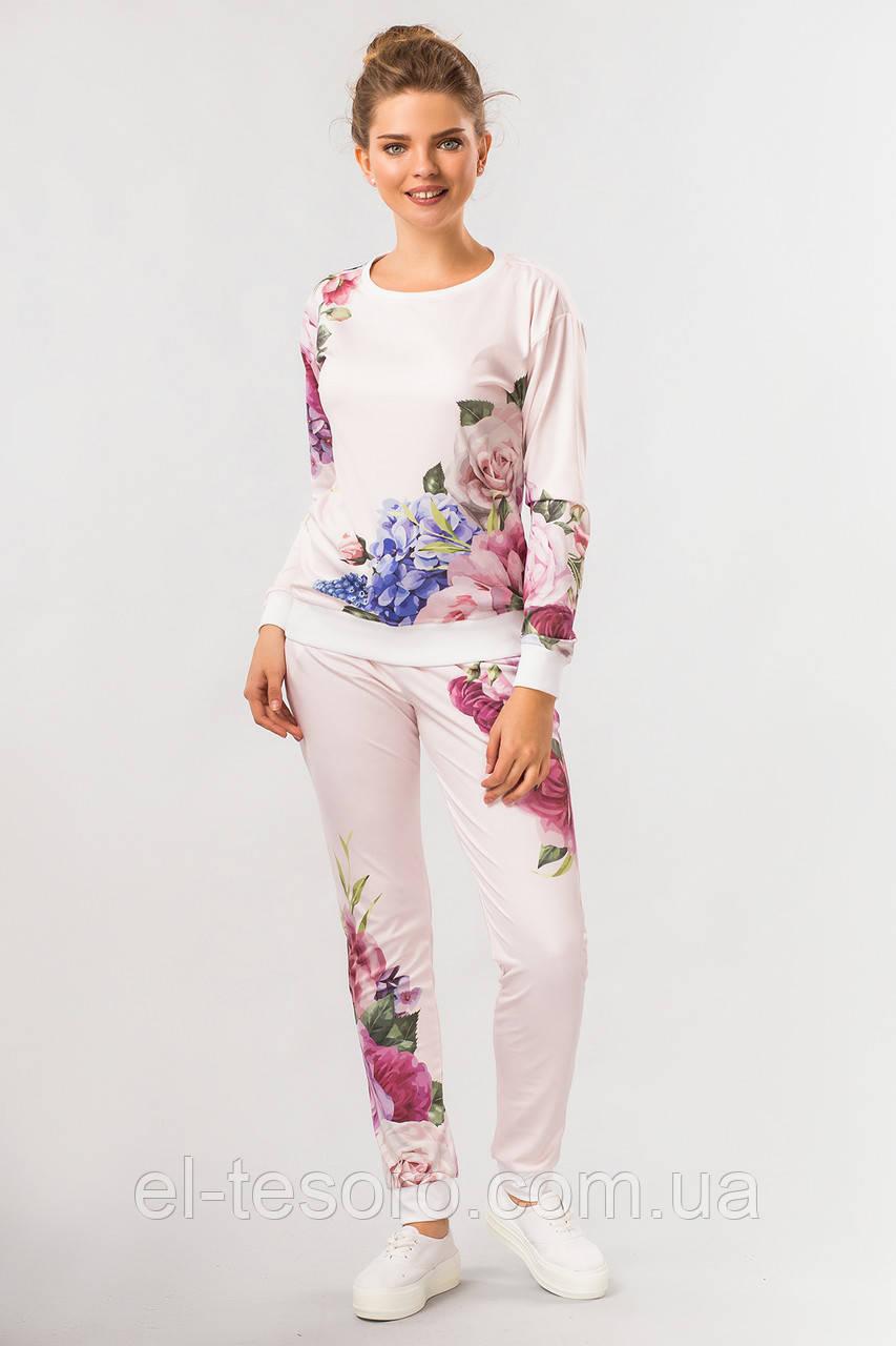 Костюм Цветы на розовом
