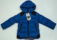 Зимняя куртка  на мальчика  рост 92-98 см