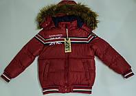 Теплая  демисезонная куртка  на мальчика  на рост 128 см