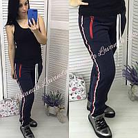 Женские спортивные штаны на меху