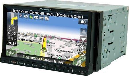 Pioneer PI-803 GPS, DVD - 2din магнитола с навигацией